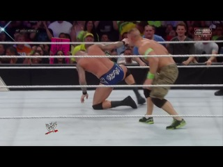 #My1 John Cena (c) vs. Kane vs. Randy Orton vs. Roman Reigns - WWE World Heavyweight Title Fatal Four Way Match