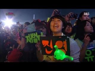 [Выступление] 141011 Opening @ Hallyu Dream Festival 2014
