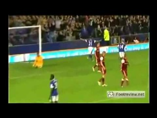 Everton vs Leyton Orient 5 - 0 Capital One Cup - Dog plays football