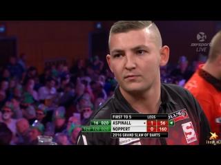 Nathan Aspinall vs Danny Noppert (Grand Slam of Darts 2016 / Group F)