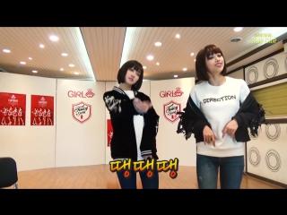 Mico и aryoung (girls girls) dang dang dang (supreme team) @ sing car
