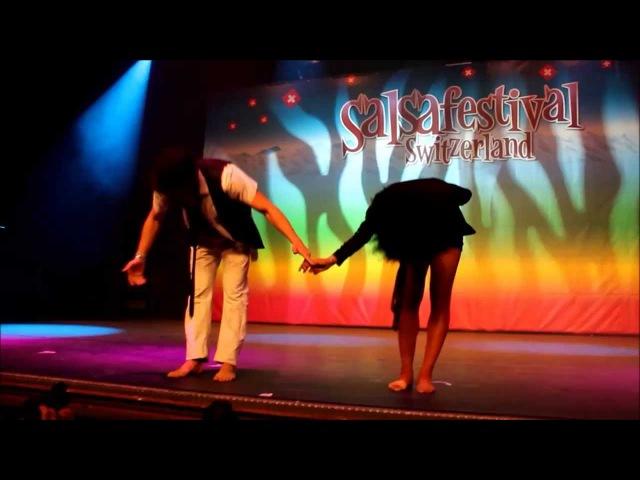 Nano and Yusimi Salsafestival Switzerland 2014