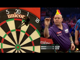 Peter Wright vs Daryl Gurney (PDC World Series of Darts Finals 2016 / Round 2)