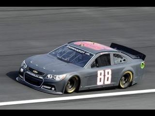 NASCAR tests at Charlotte Motor Speedway, December 2012