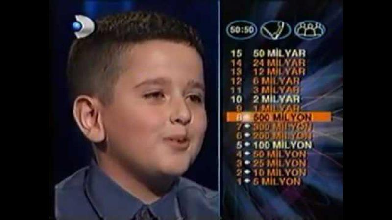 Kenan Işık zekasına hayran kaldı! Küçük çocuk tam 14 soruyu doğru cevapladı.