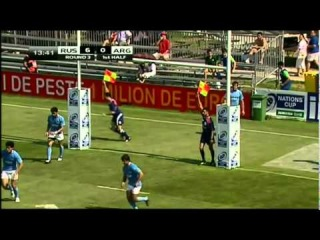 IRB Nations Cup. Argentina - Russia 33:9 (9:9) 1st half