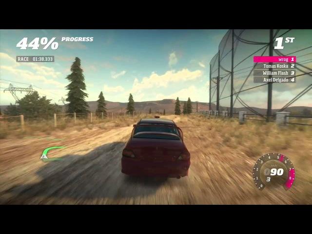 Forza Horizon Rally Expansion Gameplay Mantano Plains Mitsubishi Lancer