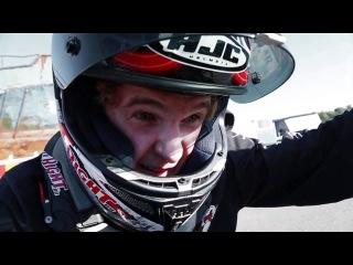 StuntFreaksTeam - Justus, 17, crash kangaroo stoppie