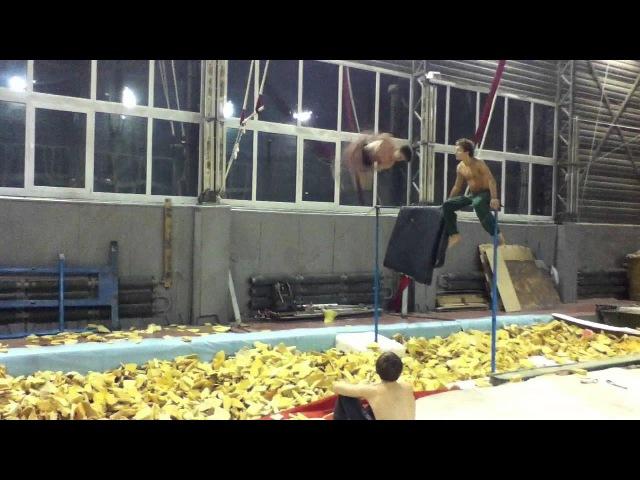 VANER and CHECHIK gym training Part 1