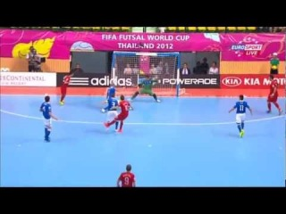 ЧМ-2012. 1/4 финала.  Португалия - Италия (1 тайм)