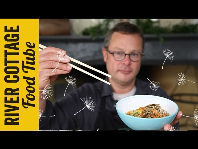 Buckwheat Noodles, with Wakame and Ginger | Hugh Fearnley-Whittingstall