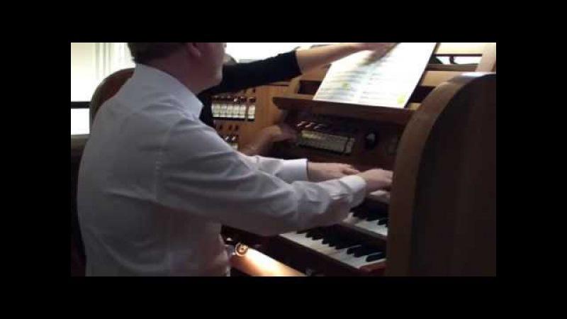 Orgelkonzert in Stuttgart mit John Scott Ad Wammes Toccata Chromatica Echoes of Sweelinck