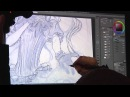 Redjuice Live Painting in MANSAI SUB Tutorial Tips for illustration 1 3