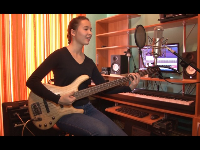 Dasha Safronova Forget me nots Vocal and Bass cover by Patrice Rushen