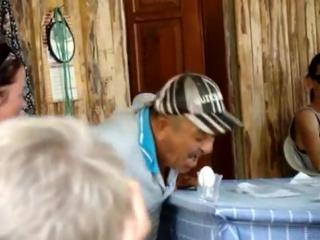 Turkish man yelling meow at an egg