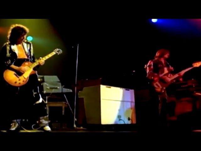 Led Zeppelin Black Dog Live at Madison Square Garden 1973 Official Video