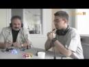 Игорь в студии Raadio 4 с презентацией квадрокоптеров