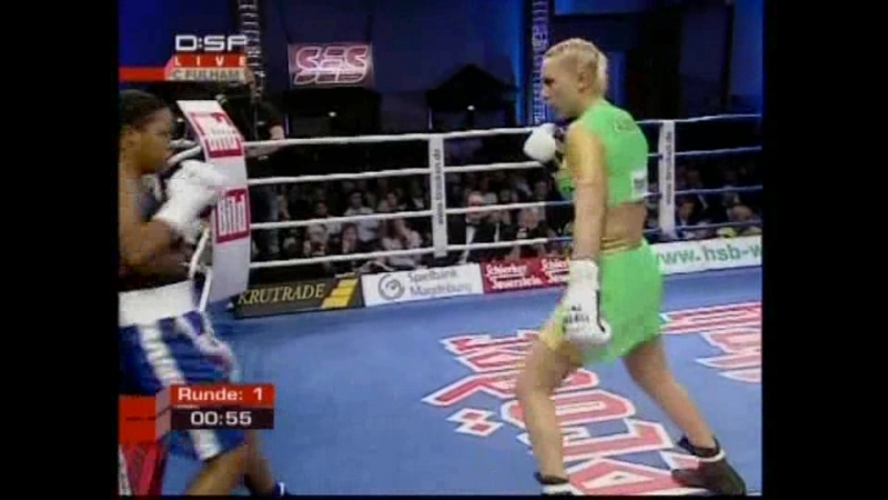 2007-02-17 Natascha Ragosina vs Yahaira Hernandez (vacant WBAF, WIBF GBUF Super Middleweight Titles)
