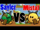 Teeworlds - Sayler VS Mistal Эпичная битва 1 на 1!!