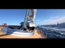 Maltese Falcon at the Perini Navi Cup 2013 in Sardinia