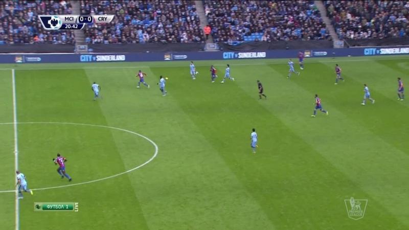 EPL 2014-15 MD17 - Manchester City vs Crystal Palace 01st Half