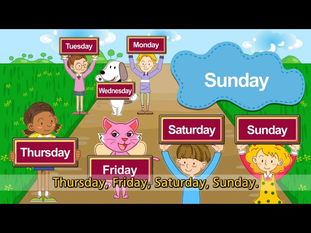 What day is it today? It's Monday Tuesday Wednesday (Day of the week) - English song for Kids