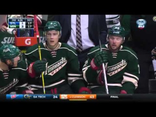 Blues at Wild Game Highlights 10/10/15