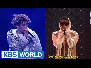 ZICO & Jang HyunSeung - Tough Cookie / Loyal [2014 KBS Song Festival / ]