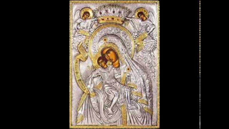 Богородице Дево Византийский распев глас 5