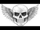 Skull Speed Drawing 2
