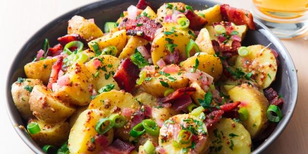Как приготовить молодую картошку в духовке и на плите: 10 аппетитных блюд, изображение №10