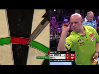 Michael van Gerwen vs Ian White (World Matchplay 2015 / Quarter Final)