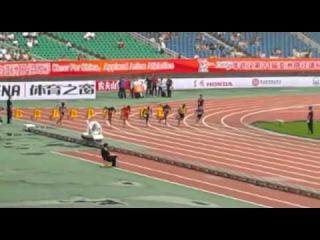 Femi Ogunode  2015 asian championship semifina