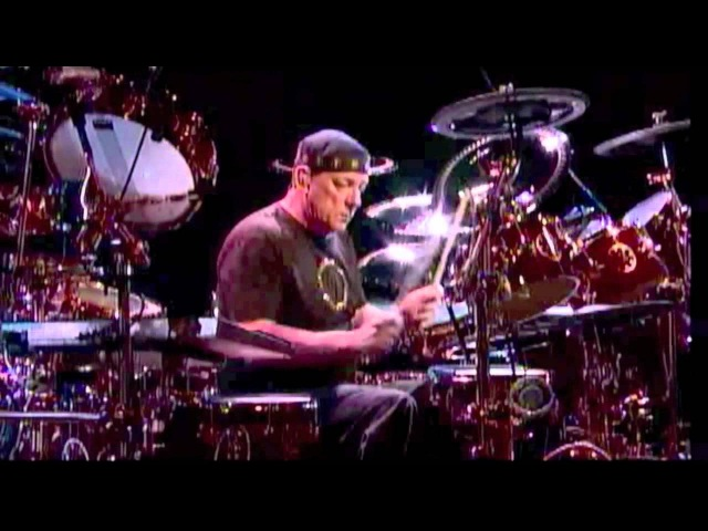 Neil Peart - (Drum Solo) on Letterman 6-9-2011