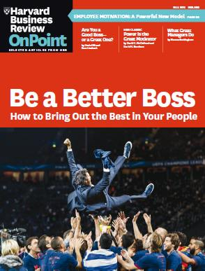 Harvard Business Review OnPoint - Fall (2015)