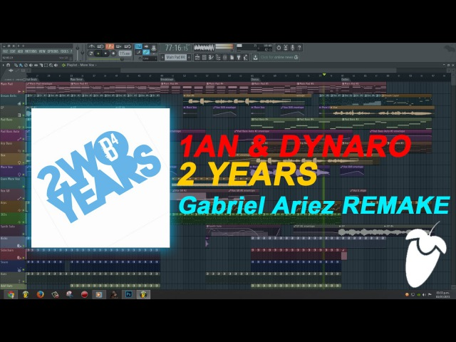 1AN Dynaro 2 Years Original Mix Full FL Studio Remake FLP