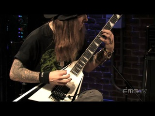 Alexi Laiho rips through Are You Dead Yet Live on EMGtv