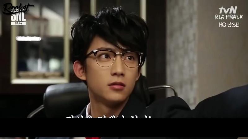 Gongchan B1A4 3 Minute Boyfried @ SNL Korea рус саб
