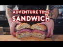 Binging with Babish Jake's Perfect Sandwich from Adventure Time