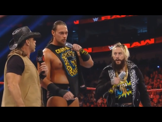Big Cass says PENIS on RAW