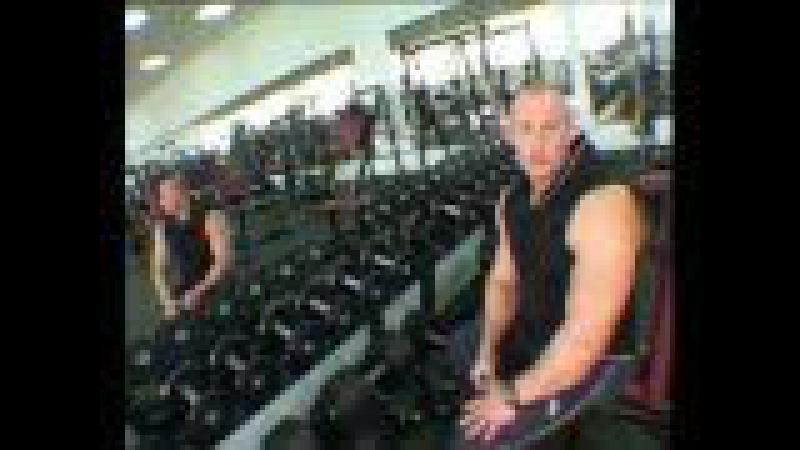 Комплекс мужских 3 х дн тренировок мышц антогонистов