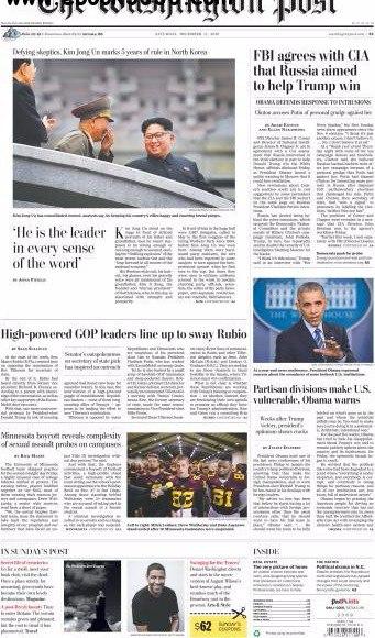 The Washington Post - December 17- 2016