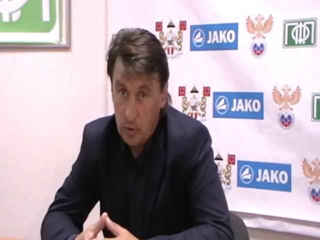 Послематчевая пресс конференция гл. тренера ЦРФСО Владимира Силованова