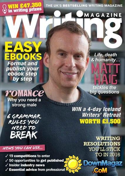 Writing Magazine - January 2016  UK