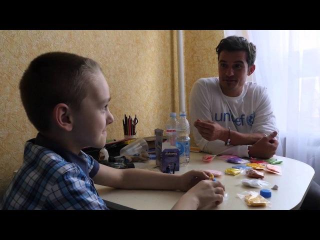 Візит Орландо Блума до східної України