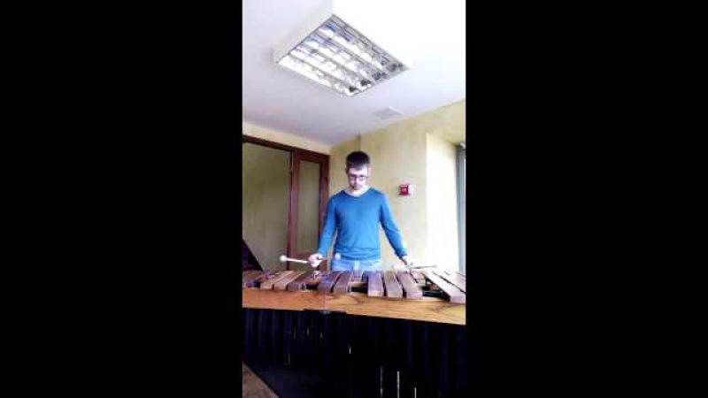 Katamiya for Marimba solo by Emmanuel Sejourne