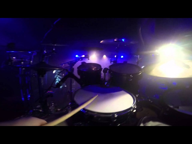 Sikth Pussyfoot Drum Cam Brighton 2014