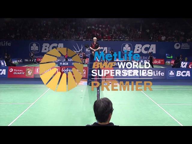 BCA Indonesia Open 2015 | Badminton R16 M2-MS | M. Zwiebler vs T. Sugiarto