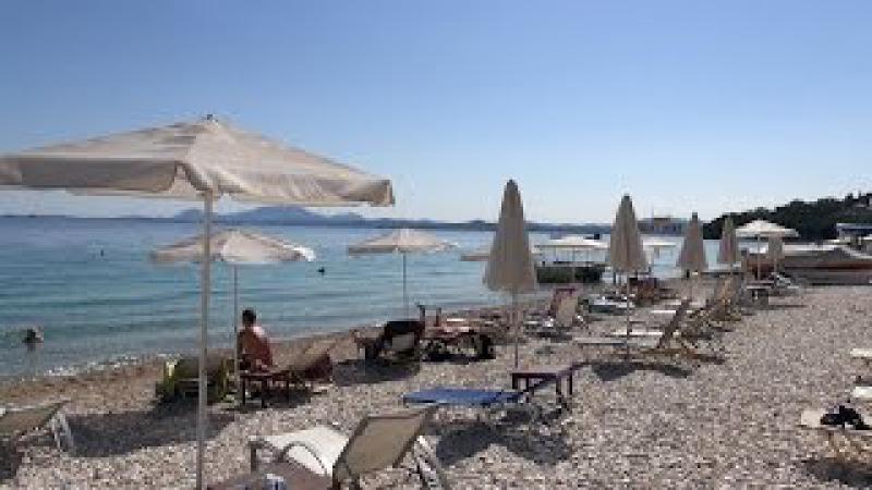Barbati Beach Corfu First Day