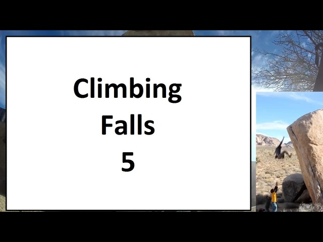 Rock Climbing Falls, Fails and Whippers Compilation 2015 Part 5